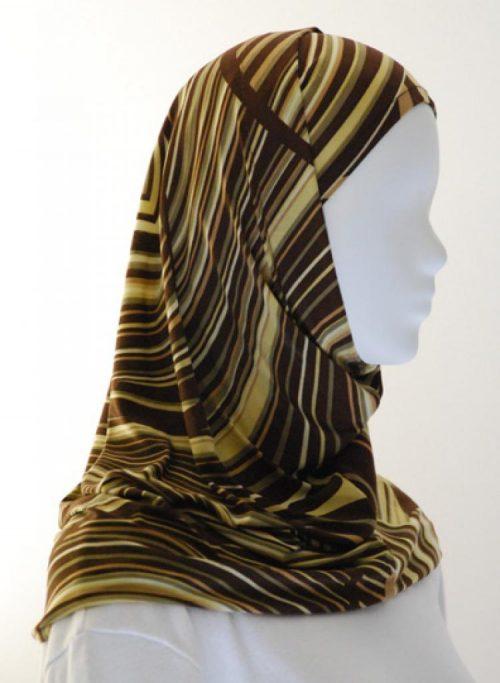 Lycra Al Amirah Hijab hi1551