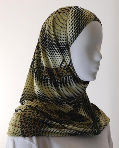 Lycra Al Amirah Hijab hi1560