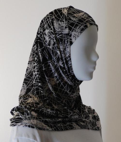 Lycra Al Amirah Hijab hi1561