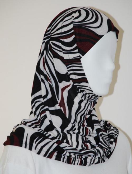Lycra Al Amirah Hijab hi1567