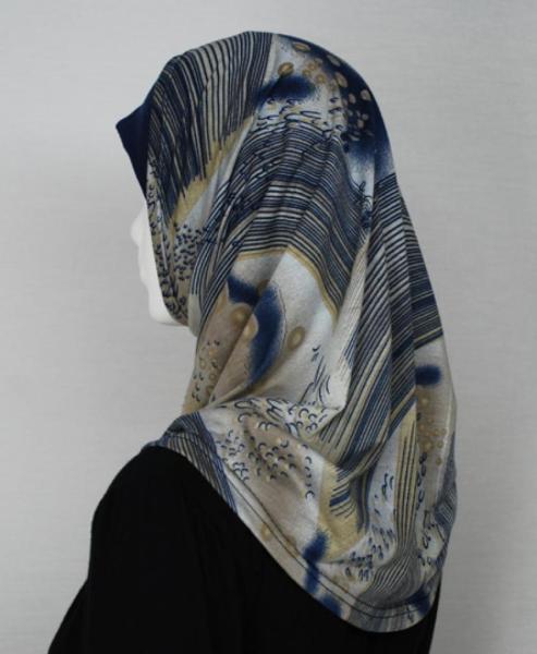 Swirl Print Al Amirah Hijab hi1711