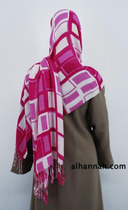 Multitone Print Shayla Wrap hi1826