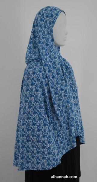 Deluxe Printed Al Amirah Hijab hi1832