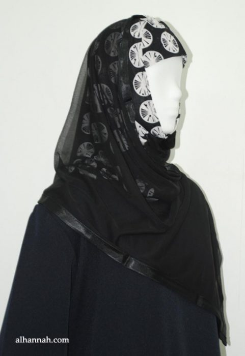 Kuwaiti Style Shayla Wrap hi1888