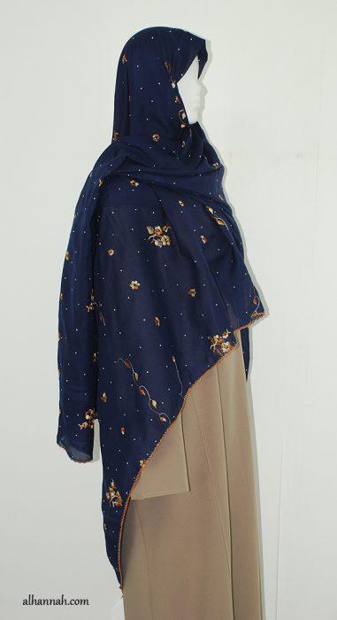 Floral Embroidered Dupatta hi2001