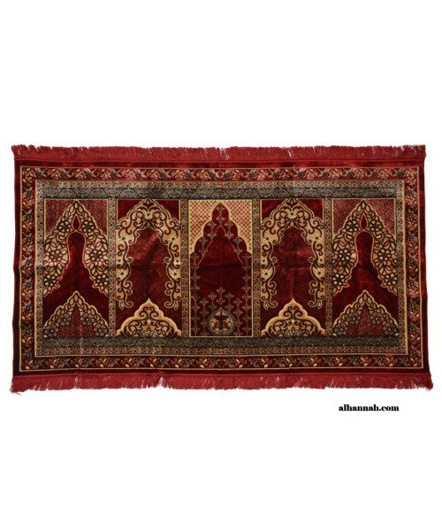 5 Person Woven Turkish Prayer Rug ii1050