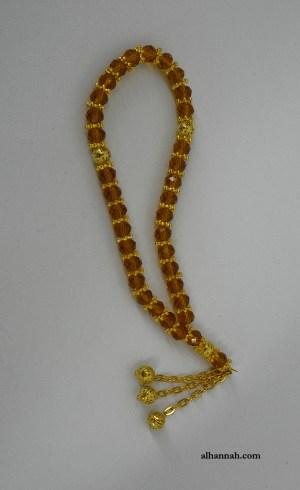 Cuentas de Oración de Cristal Amber Tone Crystal II1074