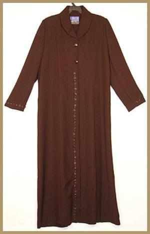 Jilbab - Classic Embroidered Jordanian Style ji586