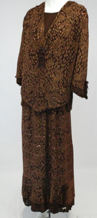 Petite Floral Skirt Set Paisley Print ji637