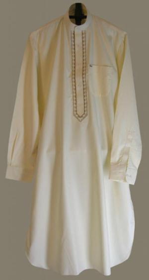 Mens Embroidered Long Kurta Shirt  me496