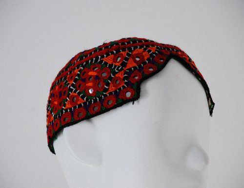 Mens Embroidered Sindhi Cap me505