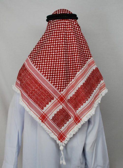 King Abdullah Style Premium Jordanian Smagh  me518