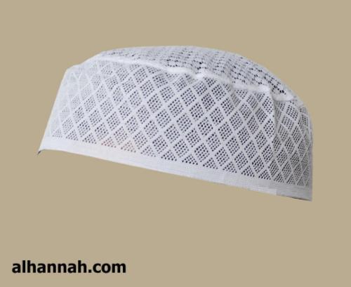 Mens Diamond Pattern Cotton Kufi  me567