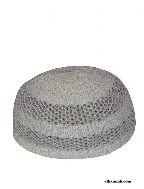 Kufi-Striped Knit style me676