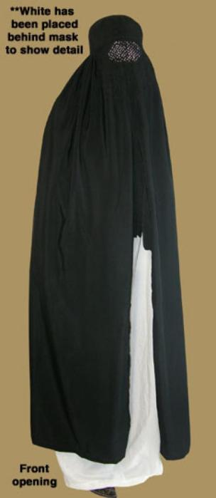 Authentic Afghanistani style Embroidered Chador Burqa ni137