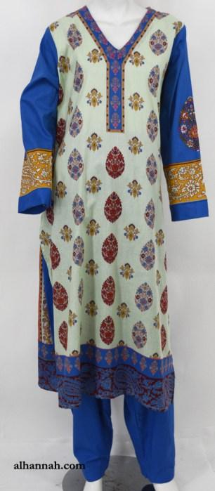 Zaynab Salwar Kameez - Premium Cotton sk1221