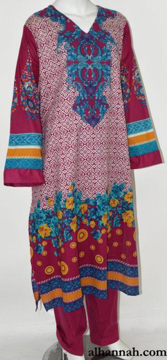 Nadah Salwar Kameez - Premium Cotton sk1228