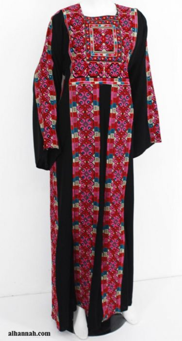 Firdaus Deluxe Embroidered Palestinian Fellaha Dress th754