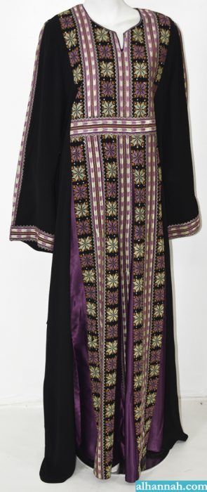Yasmin Embroidered Palestinian Fellaha Thobe th767