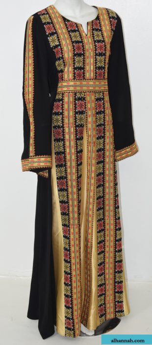 Zaynah Embroidered Palestinian Fellaha Thobe th769