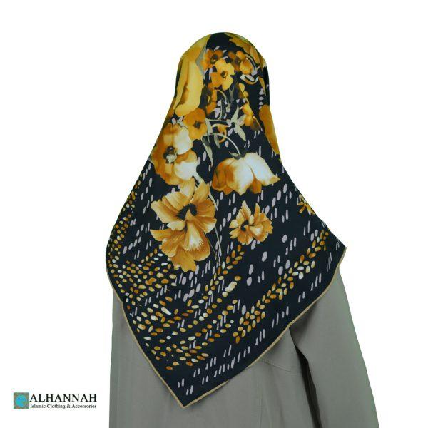 Elegant Floral Turkish Hijab hi2087