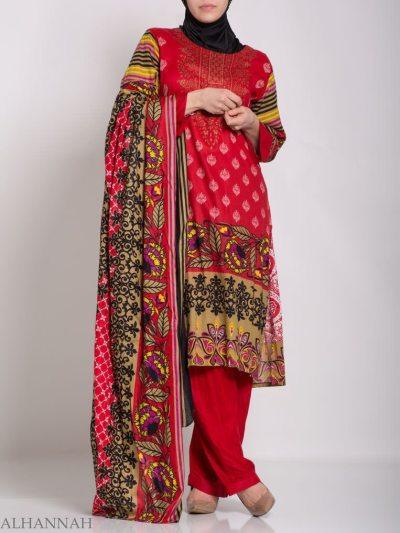 Hana Salwar Kameez - Premium Lawn Cotton sk1215 (2)