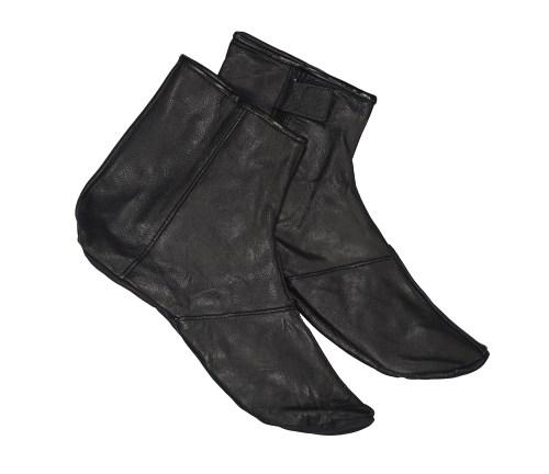 Khuff Leather Socks