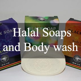 Halal Soaps and Body Wash