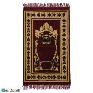 Muslim Prayer Rug with Arches