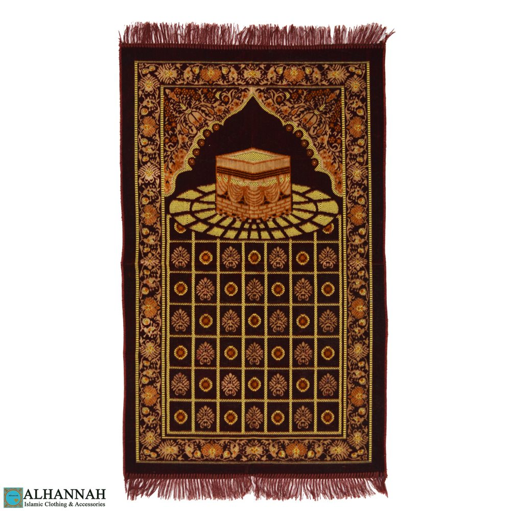 Muslim Prayer Rug Kaaba