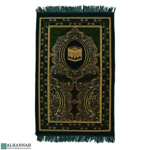 prayer mat islam with Kaaba