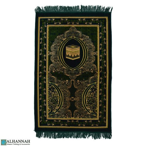 prayer mat islam with Kaaba