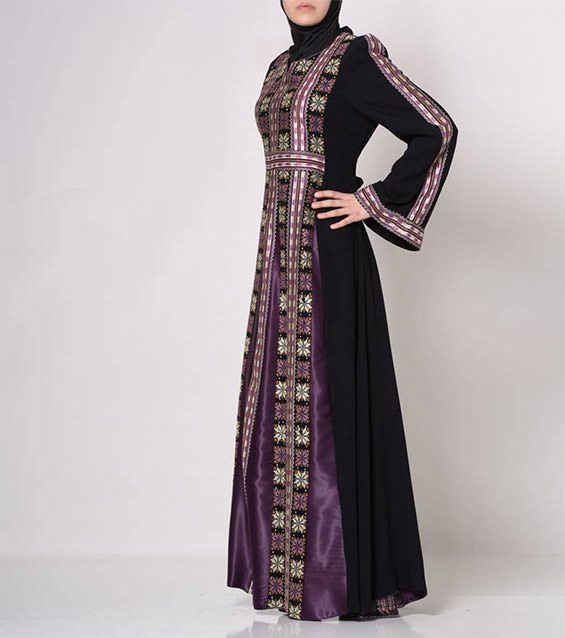 Womens-Muslim-Islamic-Clothing-Embroidered-Palestinian-Special-Value-12518