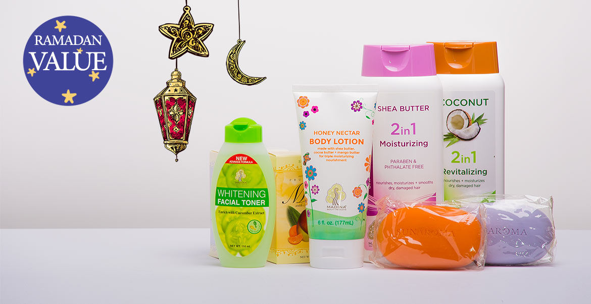 Ramadan Special Halal Care Products Lotion Soap and Cleansers 50 Percent Value
