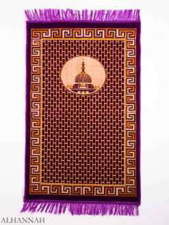 Turkish Prayer Rug Brick Layer Mosque Motif ii1147 (1)
