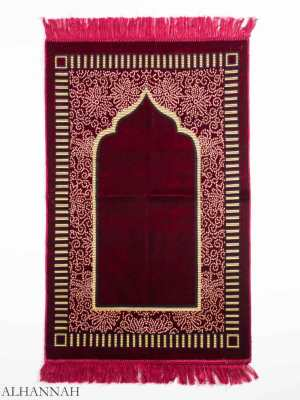 Turkish Prayer Rug Floral Arch Motif ii1148 (1)