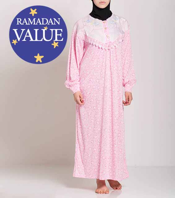 Mujer-Musulmana-Islámica-Ropa-Modest-Nightgowns-Special-Value-Ramadan-Eid-51818