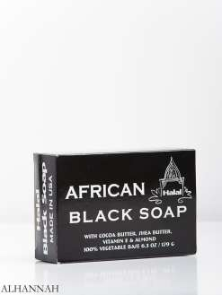 African Black Soap with Cocoa Butter and Shea Butter gi959 (1)