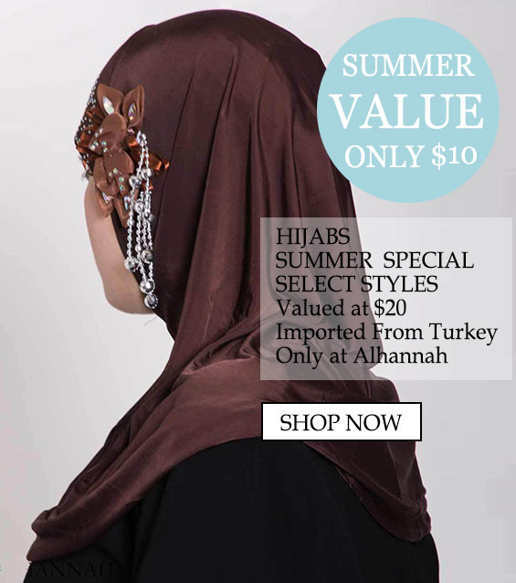 "Womens Muslim Islamic Clothing Beautiful Hijabs Alamira Square Shayla ""only $10 Hijabs Summer Special Select Styles Valued at $20 Imported from turkey only at Alhannah"""