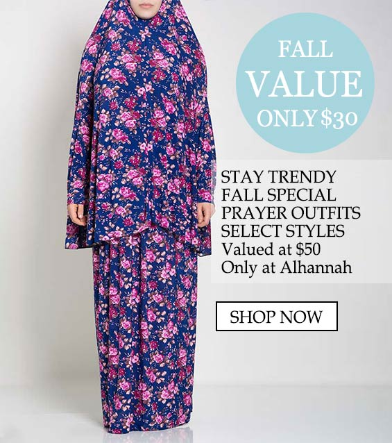 Womens islamic prayer outfits - fall value only $30 stay trendy, fall special prayer outfits select styles valued at $50 only at alhannah shop now