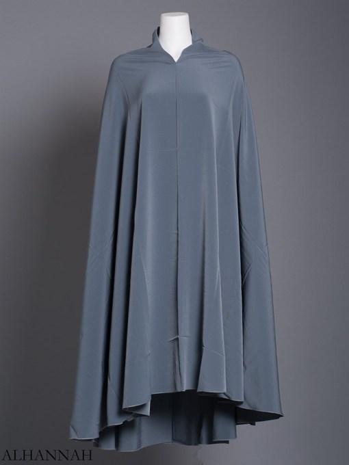 Plain Solid Color Long Khimar hi2175 (6)
