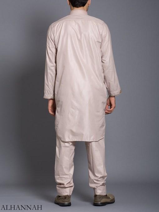 Zari Embroidered Pocketed Salwar Kameez me787 (2)