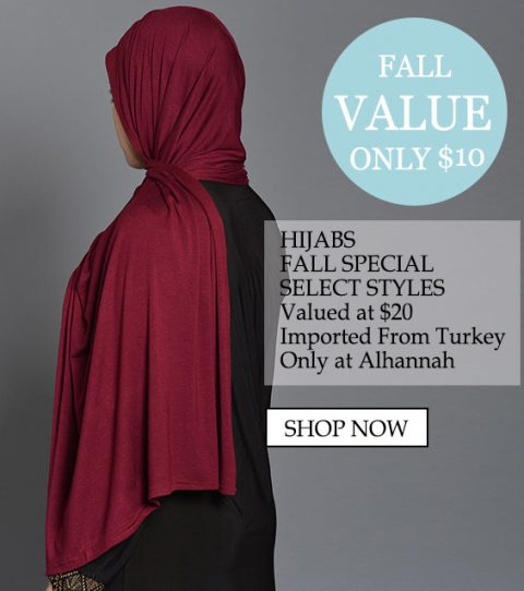 Kvinners muslimske islamske klær Beautiful Hijabs Alamira Square Shayla