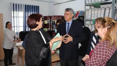Photo of وزير العدل يزور محكمة الناحية بقرطاج