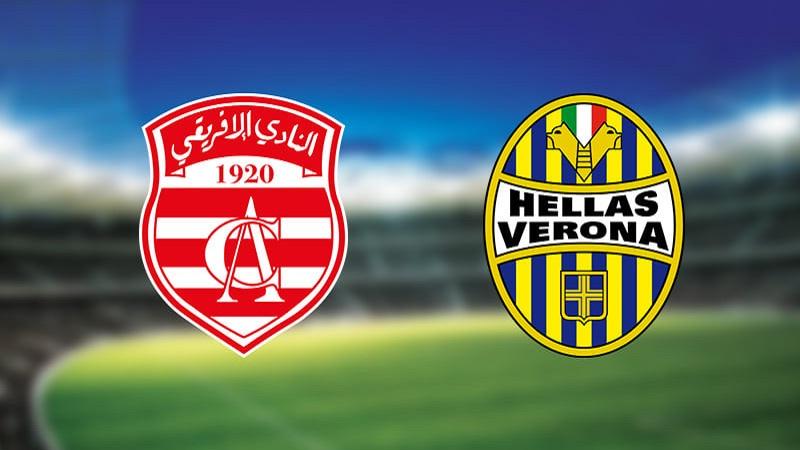 رسميا.. النادي الإفريقي واجه هيلاس فيرونا الإيطالي يوم 22 ديسمبر