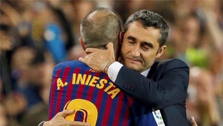 أندريس إنيستا: طريقة تعامل برشلونة مع فالفيردي قبيحة