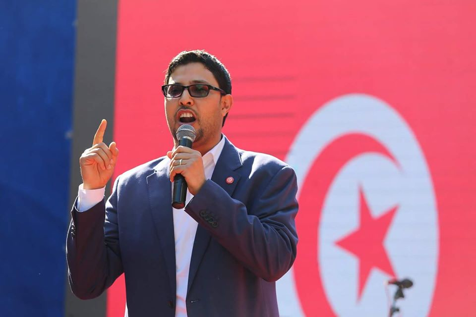 إستقالة القيادي الشاب زياد بومخلة من حركة النهضة