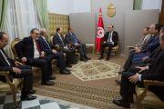 رئيس الحكومة المكلف يلتقي وفدا عن الاتحاد التونسي للصناعة والتجارة والصناعات التقليدية