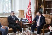 لقاء يجمع وزير السياحة بسفير الهند بتونس