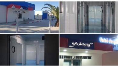 "Photo of لإنتهاء من الأشغال المدنية للوحدة القارة ""كوفيد 19″،بمستشفى حسان بلخوجة برأس الجبل"
